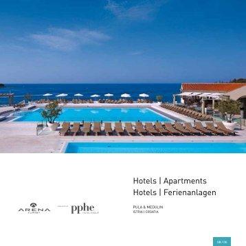 hotels | apartments hotels | ferienanlagen - Arenaturist