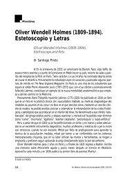 Oliver Wendell Holmes (1809-1894 ... - Fundación Pfizer