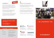 """wir """"unternehmen"""" - Unternehmens-Forum"""