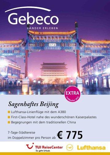 Sagenhaftes Beijing - TUI ReiseCenter