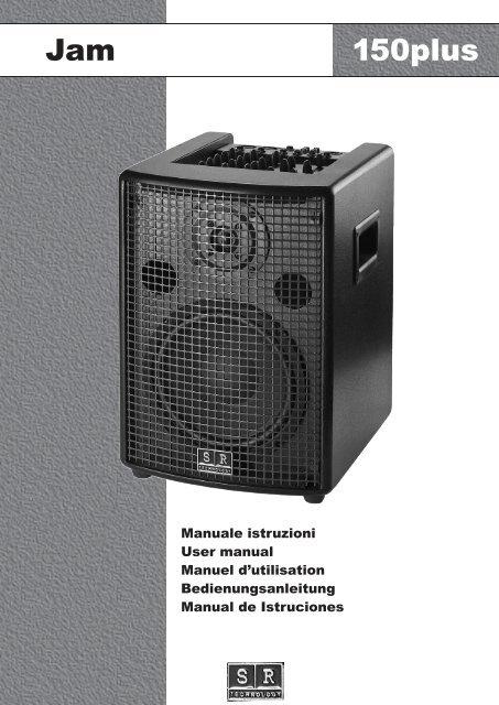 Jam 150plus - SR Technology