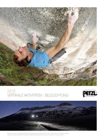 PETZL 2012 / VERTIKALE AKTIVITÄTEN - BELEUCHTUNG