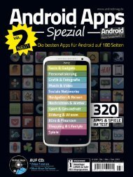 Android Apps Spezial Ausgabe 2 - Android Magazin