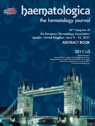 poster session i - Haematologica