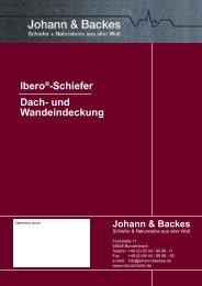Ibero®-Schiefer Dach- und Wandeindeckung