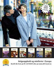 Les mer og se alle våre jubileumstilbud på www.dtf-travel.no Du ...