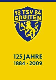 125 JAHRE - TSV Gruiten