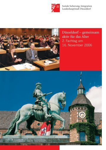 Düsseldorf – gemeinsam aktiv für das Alter - Stadt Düsseldorf