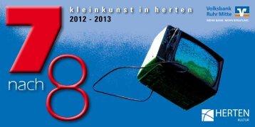 2012 - 2013 k l e i n k u n s t  i n  h e r t e n - Volksbank Ruhr ...