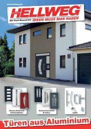 Türen aus Aluminium - Hellweg