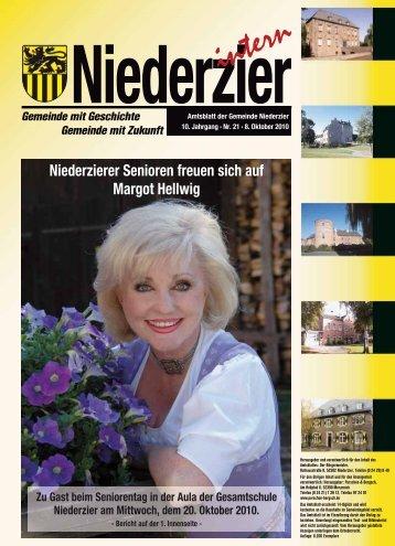 Niederzierer Senioren freuen sich auf Margot Hellwig - Gemeinde ...