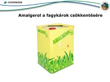 Az Amalgerol hatása a növényre