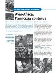 Avis-Africa: l'amicizia continua - avis milano