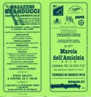20120504 marcia amicizia - Gruppo Podisti Avis Forlì