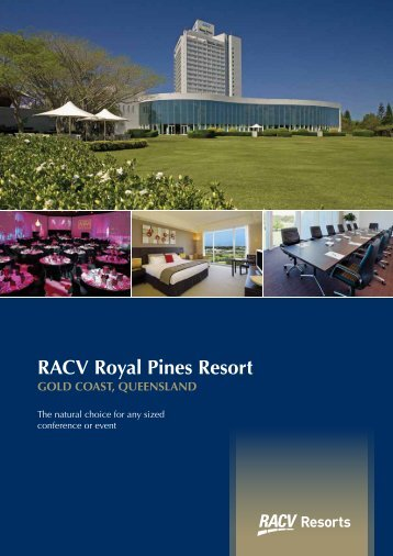 RACV Royal Pines Resort - Staging Connections