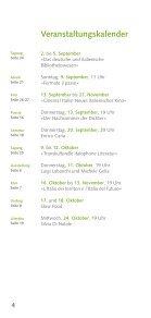 Kulturprogramm September-Dezember 2012 - Istituto Italiano di ... - Seite 4