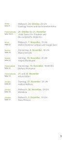 Kulturprogramm September-Dezember 2012 - Istituto Italiano di ... - Seite 5