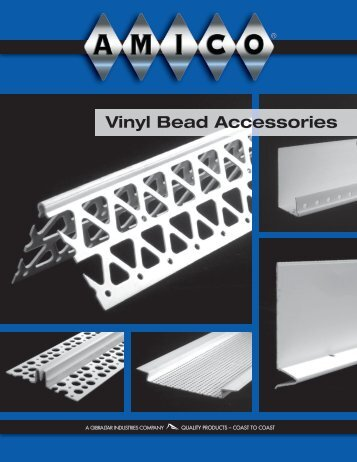 Vinyl Bead Accessories - AMICO Building Products