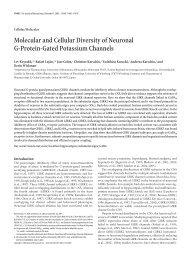 Molecular and Cellular Diversity of Neuronal G-Protein-Gated ...