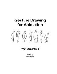 'Gesture Drawing for Animation' by Walt Stanchfield
