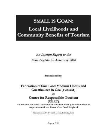 benefits of tourism
