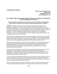 FOR IMMEDIATE RELEASE Media Contact: Sandra ... - images usa