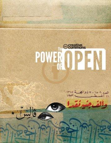 von CC auf - The Power of Open