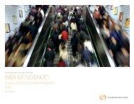 Social Science Citation Index - Thomson Reuters