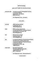 Rahmenvertrag - AOK-Gesundheitspartner