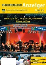 Musik im Park - Reichenbach