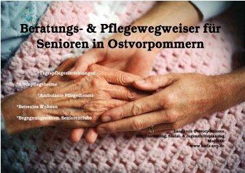 Beratungs- & Pflegewegweiser für Senioren in ... - Stadt Wolgast