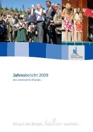 Jahresbericht 2009 - Landkreis Ostallgäu