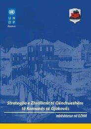 Strategjia e Zhvillimit të Qëndrueshëm të Komunës ... - UNDP Kosovo