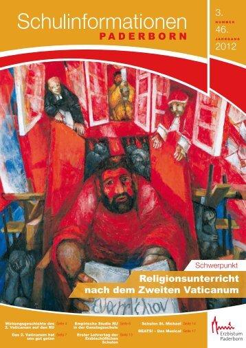 erhalten Sie das Heft 3/2012 der - Institut für Religionspädagogik ...