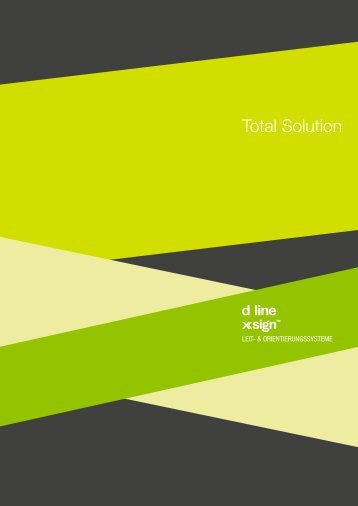 d line Beschilderung - Total Solution