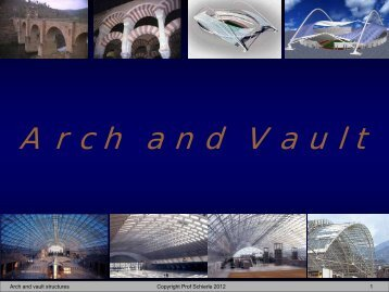Arch and Vault - Engineering Class Home Pages