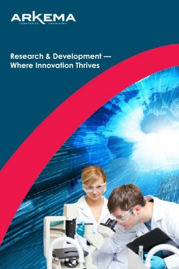 Research & Development — Where Innovation Thrives