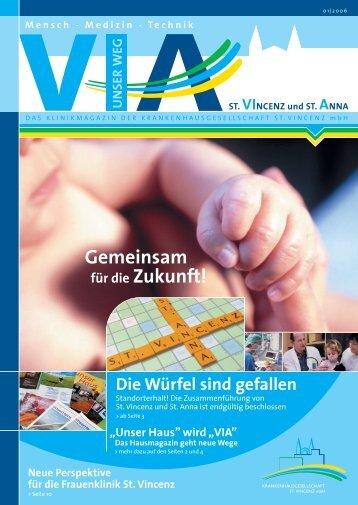 Ausgabe Nr. 1 / 2006 (2,3 MB) - St. Vincenz Krankenhaus Limburg