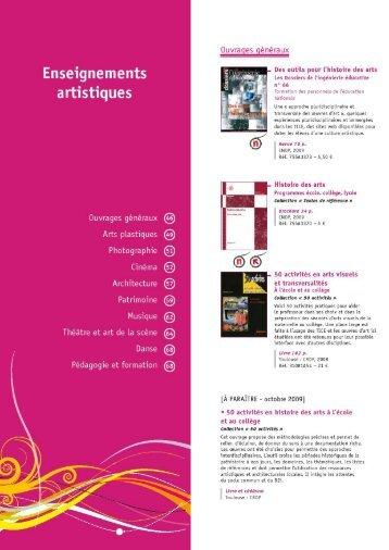 Enseignements artistiques - (CRDP) de l