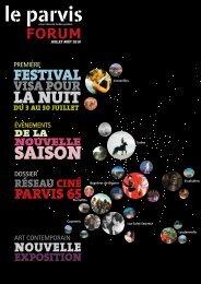 FORUM JUILLET-AOUT 2010.pdf - Le Parvis
