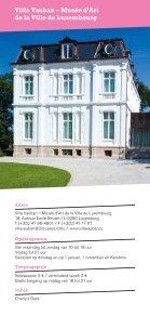 Musea en Tentoonstellingen in Luxemburg 2011 - Page 4