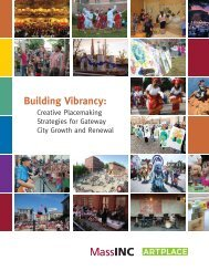 Building Vibrancy: - Massachusetts Cultural Council