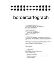 bordercartograph (Paris, France) - Sparwasser HQ