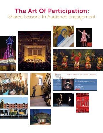 The Art Of Participation: - Massachusetts Cultural Council