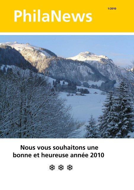 PhilaNews 1/2010 - La Poste Suisse
