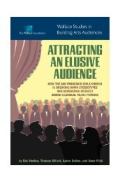 Attracting an Elusive Audience - The Wallace Foundation