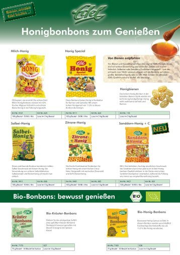 Herbal Candies - Eduard Edel GmbH Bonbonfabrik