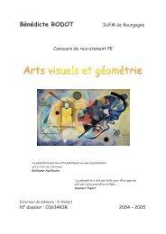RODOT_B_2005-Arts Visuels et Géométrie - (IUFM) de