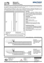 1.8 Wohnraumtür HGM Massiv-Art - Grauthoff Türengruppe