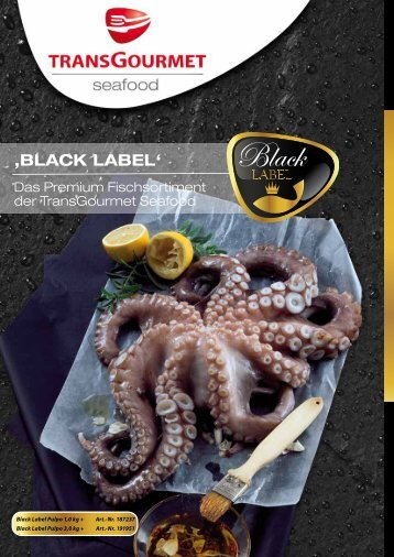 'BLACK LABEL' - TransGourmet Seafood